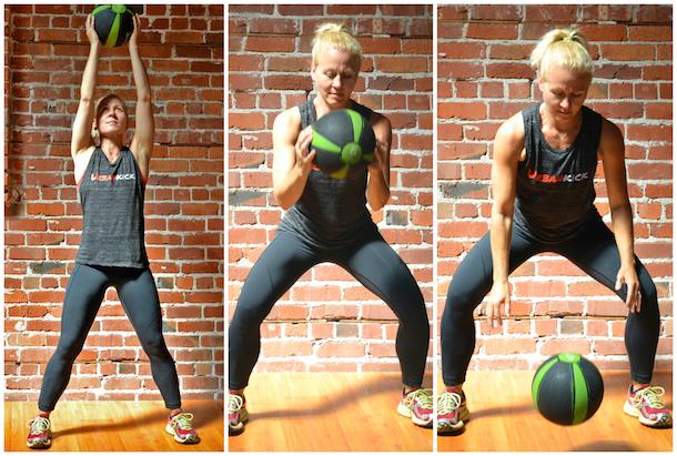 baller workout ball slam