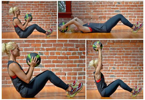 baller workout pullover press