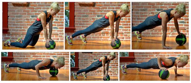 baller workout pushup planks