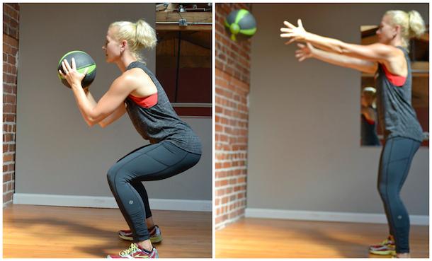 baller workout wall squat
