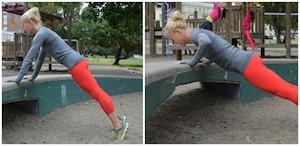 myfitnesspal pushups playground